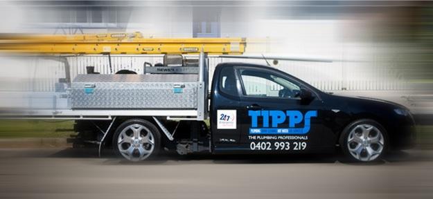 Tipps Plumbing Truck